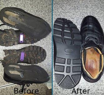 Full new soles.